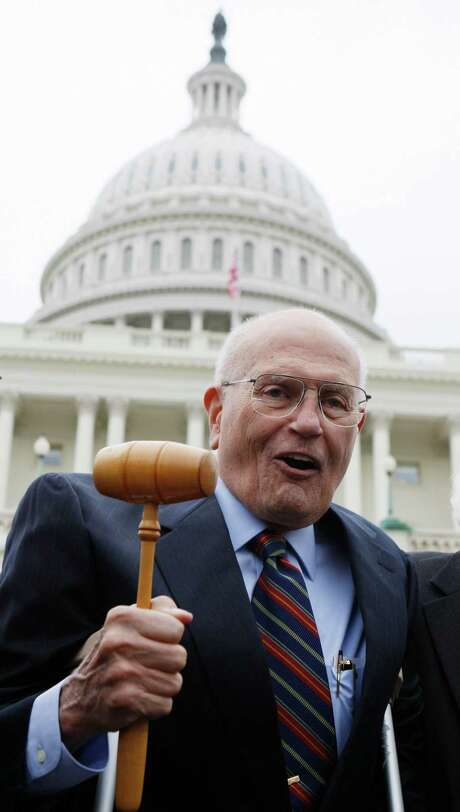 The Democrat, 86, will be the longest-serving member of Congress. Photo: Charles Dharapak, STF / AP2009