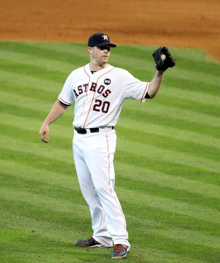 June 6: Orioles 3, Astros 1 Bud Norris allowed three runs on nine hits in seven innings in the loss.  Record: 22-39. Photo: Karen Warren, Houston Chronicle
