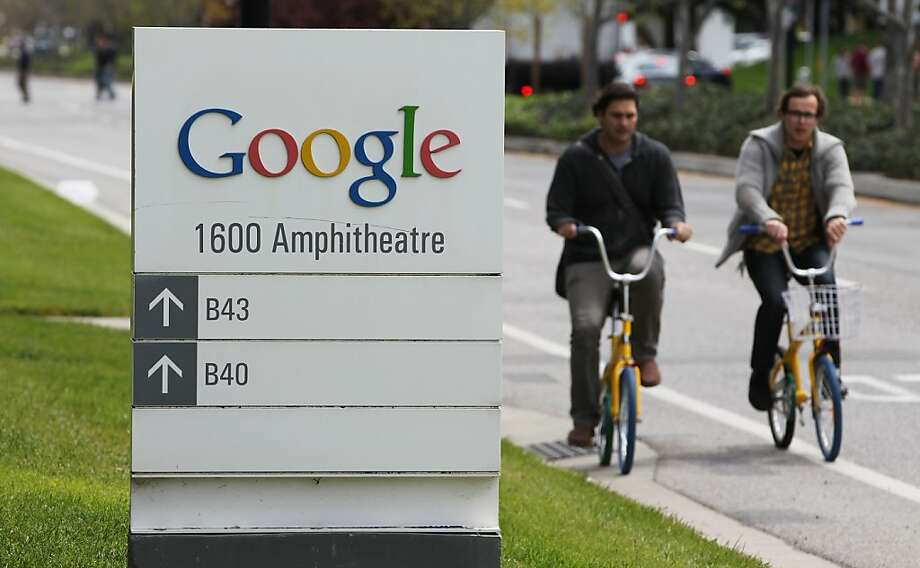 7. Google -- down from fourth last year. Photo: Paul Sakuma, Associated Press