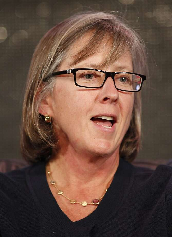 Mary Meeker, partner at Kleiner Perkins Caufield & Byers, speaks at the Web 2.0 Summit in San Francisco, California, U.S., on Tuesday, Oct. 18, 2011. The conference brings together 1,000 senior executives from the worlds of technology, media, finance, telecommunications, entertainment, and the Internet. Photographer: Tony Avelar/Bloomberg *** Local Caption *** Mary Meeker Photo: Tony Avelar, Bloomberg