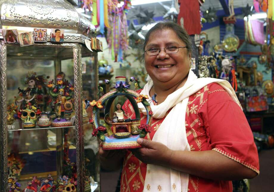 Folk artist Veronica Castillo is the recipient of the National Endowment for the Arts 2013 National Heritage Fellowship. Photo: Photos By Helen L. Montoya / San Antonio Express-News