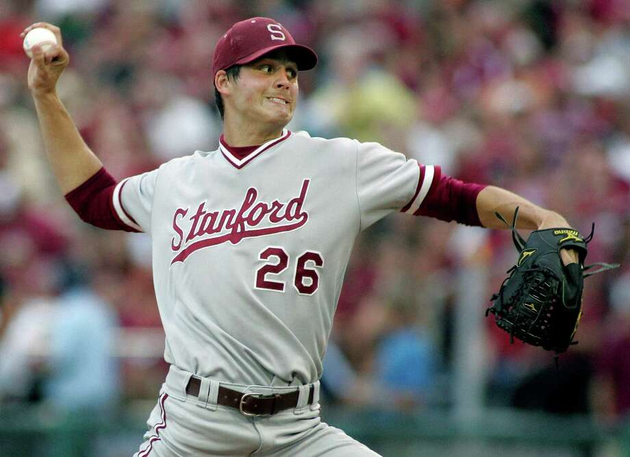 The Astros like Mark Appel's poise and professionalism as much as they do his fastball, slider and changeup. That's why they made the Stanford star their top pick. Photo: Phil Sears, FRE / A2012