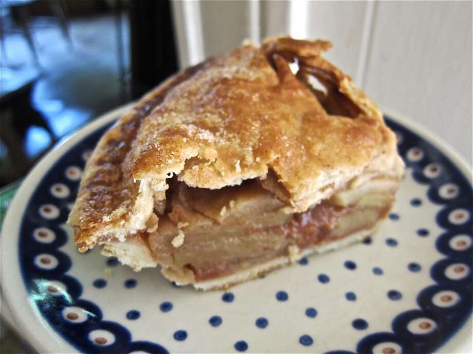 Apple pie from Sam's Burgers, Fries & Pies on Dairy Ashford.