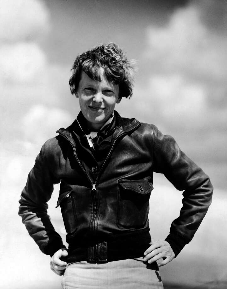 In 1932 Aviator Amelia Earhart disappeared near central Pacific Ocean near Howland Island during an attempt to circumnavigate the globe in a Lockheed Model 10 Electra. Photo: Pictures Inc., File / Time & Life Pictures