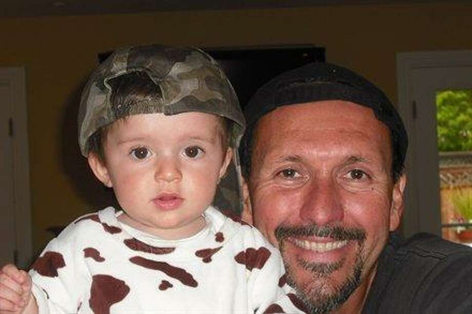 This father and son like to wear their hats backwards. Photo: Trillian22