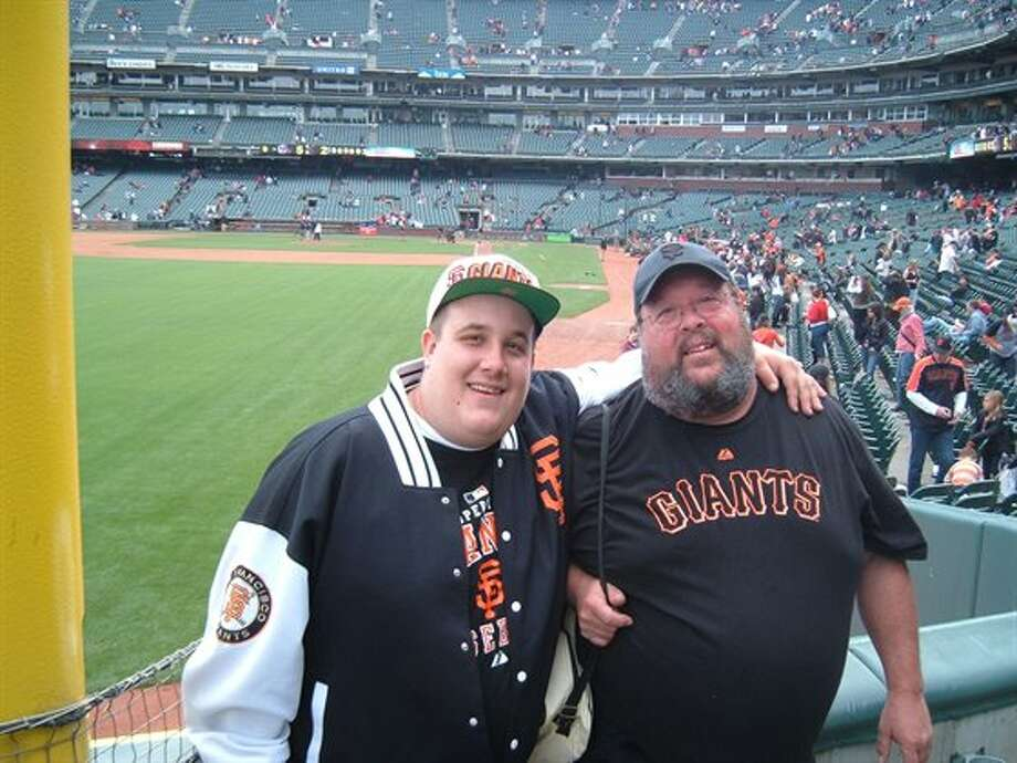 Lots of fathers and sons are Giants fans. Photo: Captainhermit42