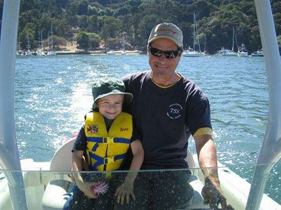 Some dads and sons boat together. Photo: Dicobowen
