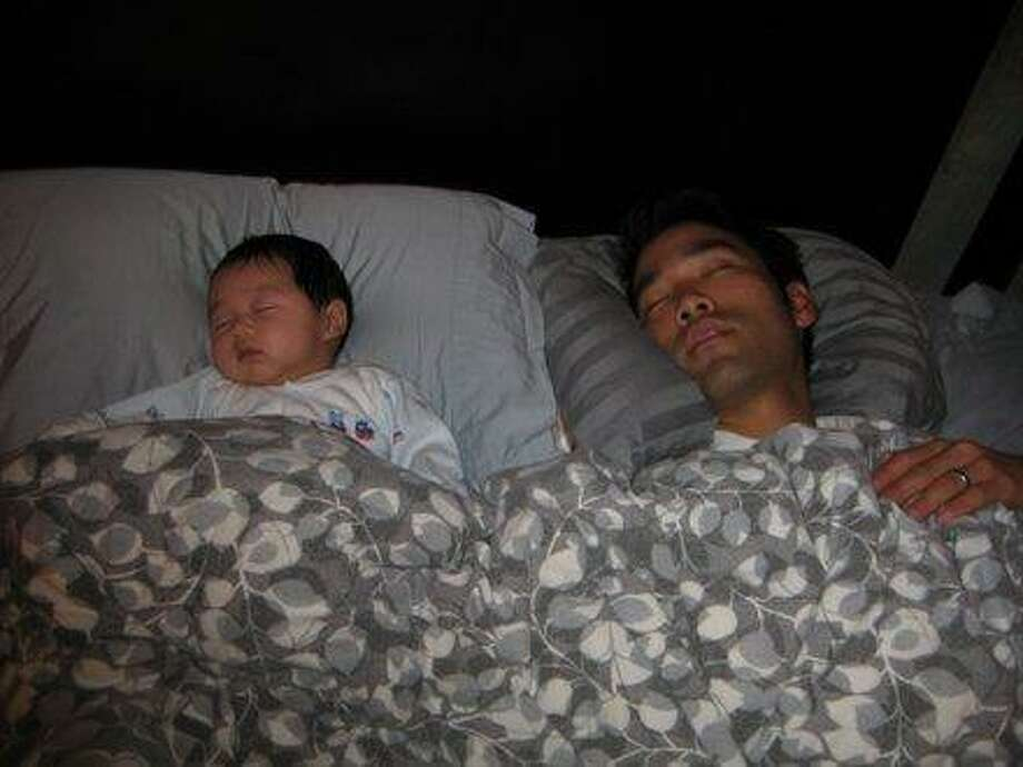 All dads enjoy napping with their sons.