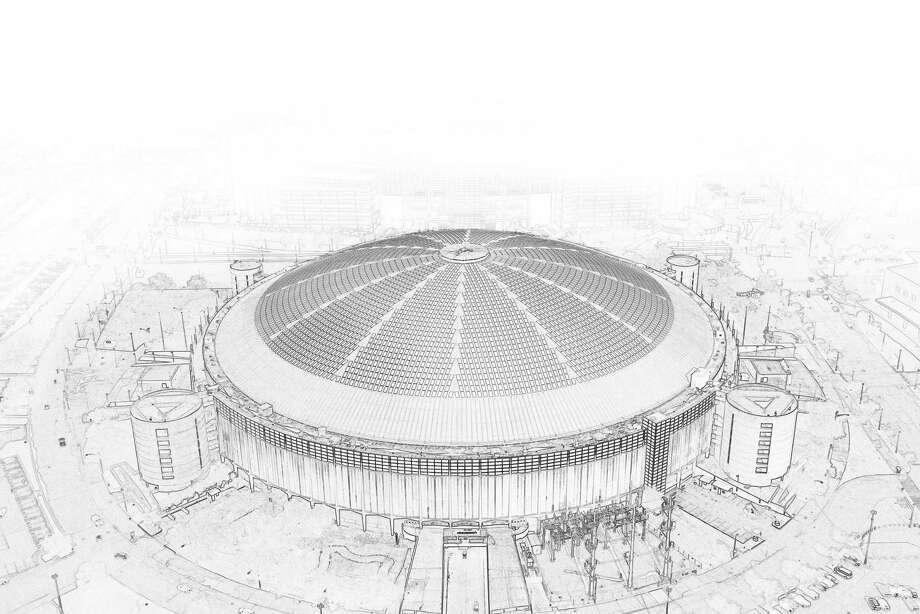 Astrodome ( Smiley N. Pool photo, Robert Wuensche photo illustration/ Houston Chronicle ) Photo: Staff / © 2013  Houston Chronicle