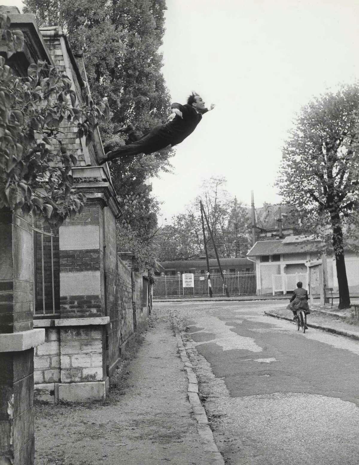 Yves Klein and Harry Shunk's