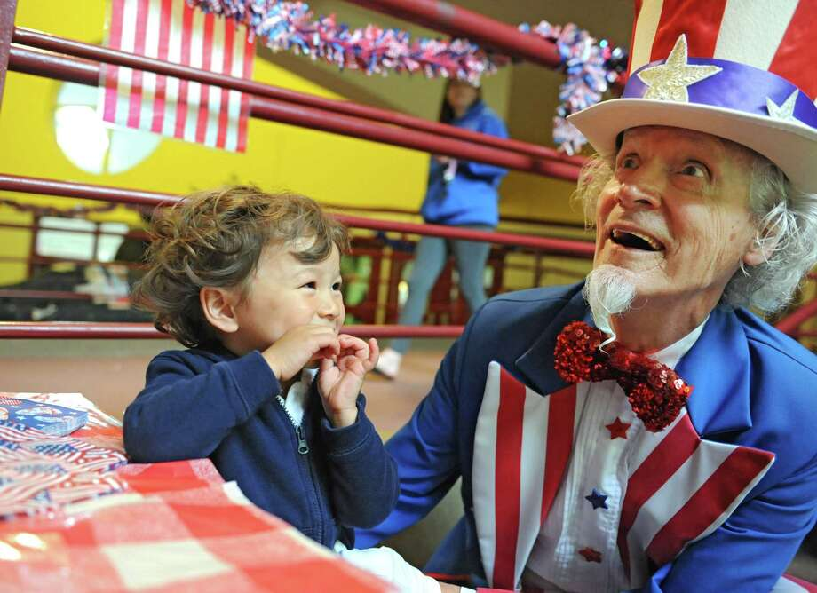 Red White But Is Uncle Sam True Blue Times Union
