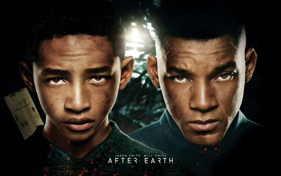 "Will Smith and his son Jaden star in the new movie, ""After Earth,"" now playing in area theaters. Photo: Contributed Photo / Westport News contributed"