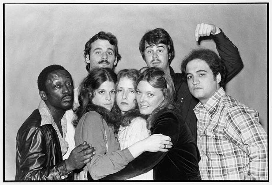 25: SATURDAY NIGHT LIVE Season One: Head Writer: Michael O'Donoghue; Written by: Ann Beatts, Chevy Chase, Tom Davis, Al Franken, Rosie Michaels, Garrett Morris, Michael O'Donoghue, Herb Sargent, Harry Shearer, Tom Schiller, Alan Zweibel Photo: NBC, NBC Via Getty Images / © NBCUniversal, Inc.
