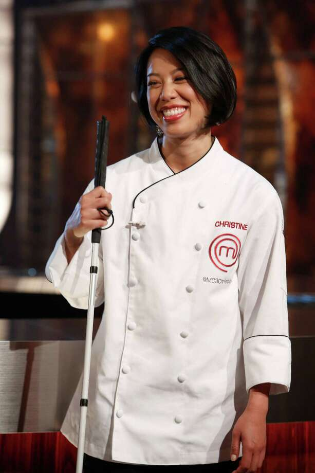 Houstonian Christine Ha, a blind graduate student at the University of Houston, faces Josh Marks, a U.S. Army Contract Specialist from Jackson, MS., in the season 3 finale of the Fox reality cooking show Masterchef. The judges are Gordon Ramsay, Joe Bastianich and Graham Elliot. The finale airs Sept. 10. Photo: Greg Gayne