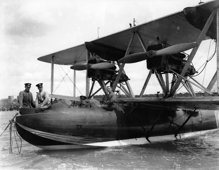 A Supermarine Southampton I flying boat takes part in the Harwich Regatta in 1928. Photo: Royal Air Force Museum / Royal Air Force Museum