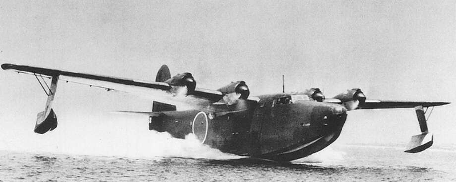 The Japanese Kawanishi H8K flying boat first flew in 1941 and entered service the following year. Photo: Imperial Japanese Navy, Wikipedia