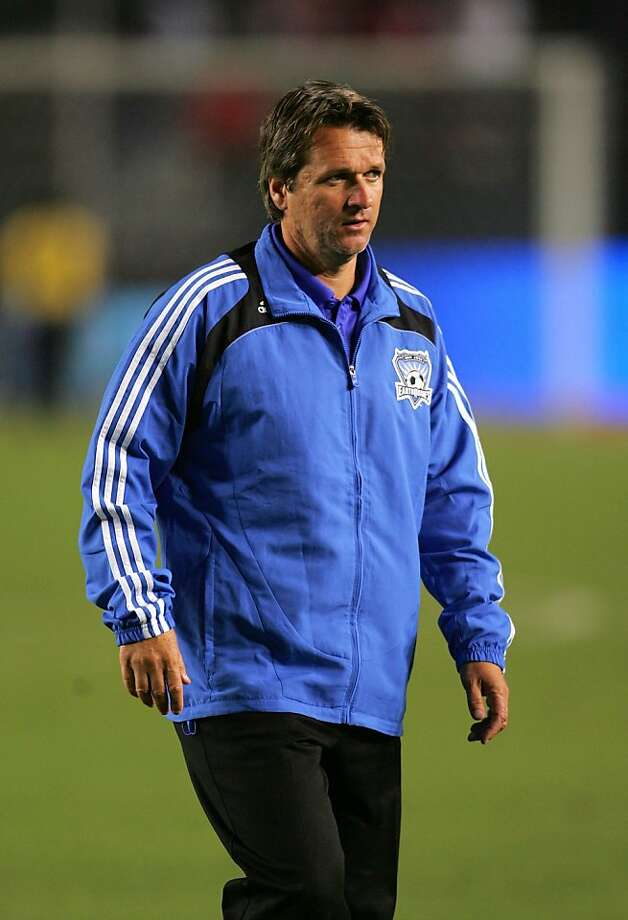 CARSON, CA - AUGUST 23:  Head Coach Frank Yallop of San Jose Earthquakes walks across the field after their MLS match against CD Chivas USA at The Home Depot Center on August 23, 2008 in Carson, California. The Earthquakes and Chivas USA played to a 0-0 draw.  (Photo by Victor Decolongon/Getty Images) Photo: Victor Decolongon, Getty Images