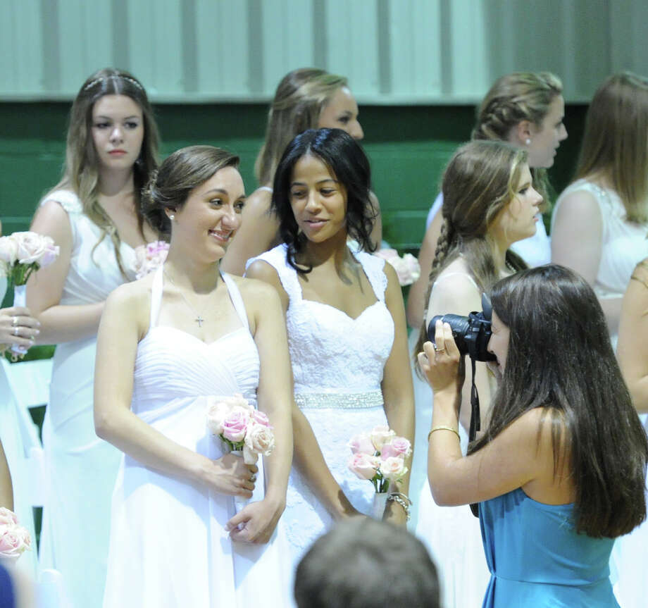 Convent of the Sacred Heart Commencement at the school in Greenwich, Friday afternoon, June7, 2013. Eighty-two students graduated. Photo: Bob Luckey / Greenwich Time