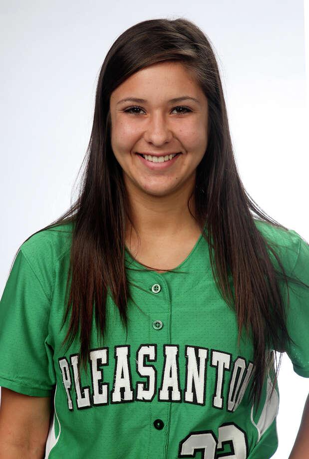 Emma Garcia,  Pleasanton, senior.  Juanito M Garza / San Antonio Express-News