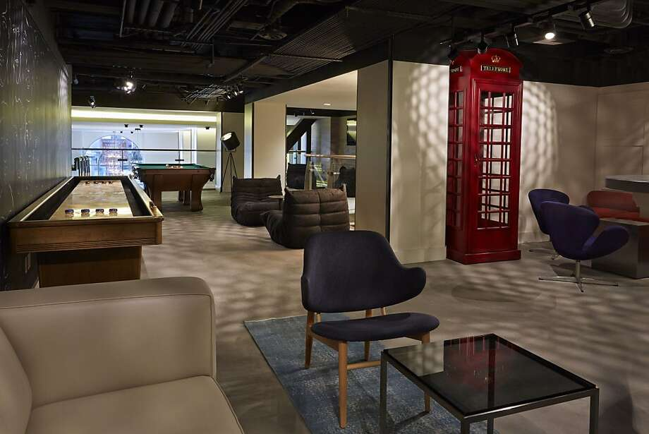 The Playroom at Hotel Zetta on Fifth Street. Photo: Hotel Zetta