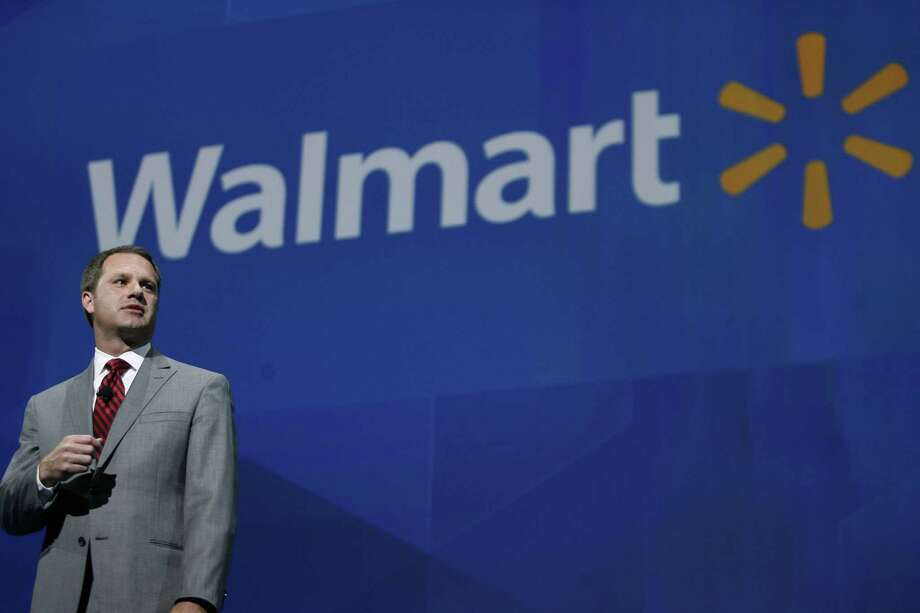 Wal-Mart might rival Apple for recognition, but it still comes up short. It's famously based in Arkansas. (AP Photo/Gareth Patterson) Photo: Gareth Patterson, FRE / FR170364 AP