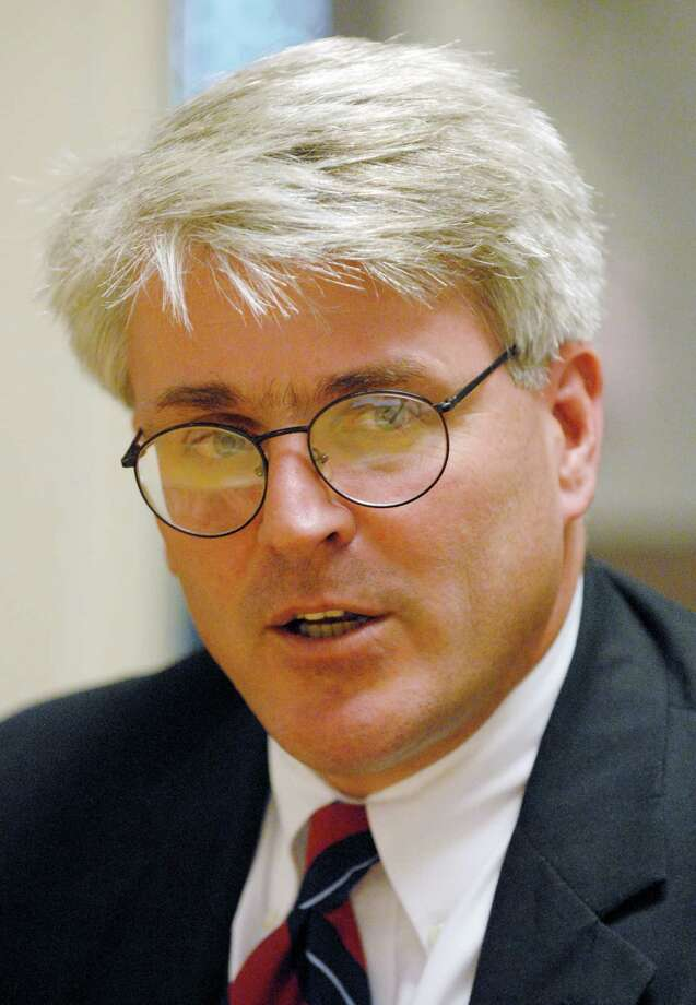 TIMES UNION STAFF PHOTO WILL WALDRON -- Richard J. McNally Jr., (D) candidate for Rensselaer County district attorney, meets with the Times Union editorial board, Wednesday October 10, 2007. Photo: WW / ALBANY TIMES UNION