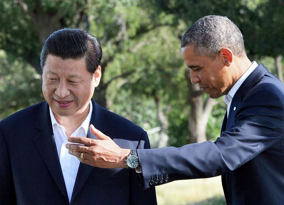 "President Barack Obama sahid his decision to meet with Chinese President Xi Jinping in California ""signifies the importance of the U.S.-China relationship."" Photo: JEWEL SAMAD, Staff / AFP"