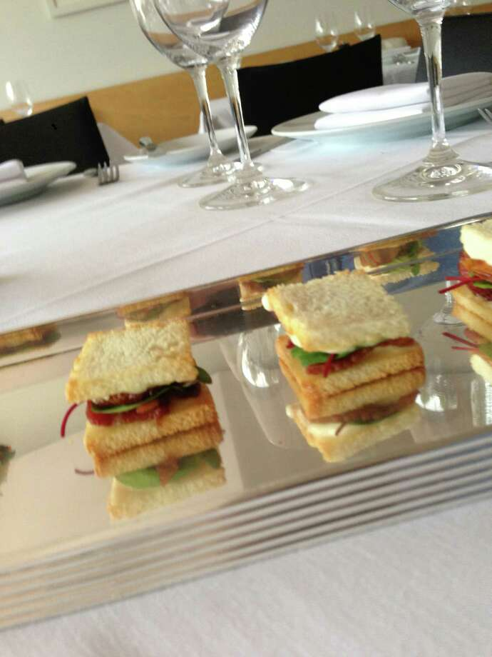 Rebecca s restaurant uses Abilis microgreens in its miniature BLT sandwiches. Photo: Contributed Photo