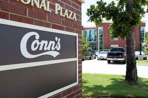 The retailer Conn's has 65 corporate staffers in The Woodlands. ,