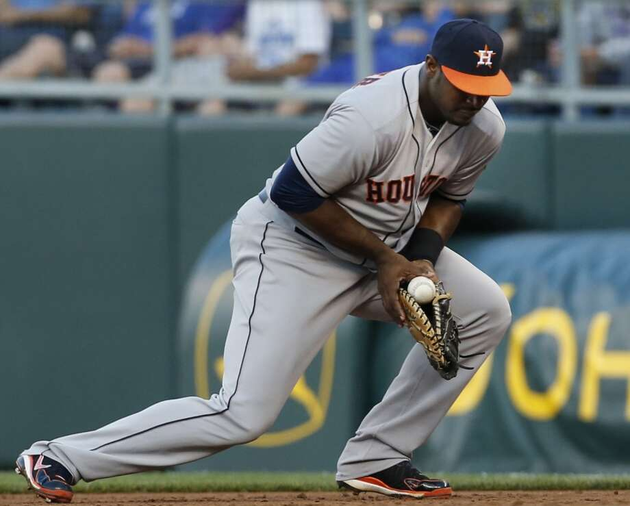 June 7: Royals 4, Astros 2Giving up two runs in the eighth inning was enough for Kansas City to break a tie versus Houston.  Record: 22-40. Photo: Orlin Wagner, Associated Press