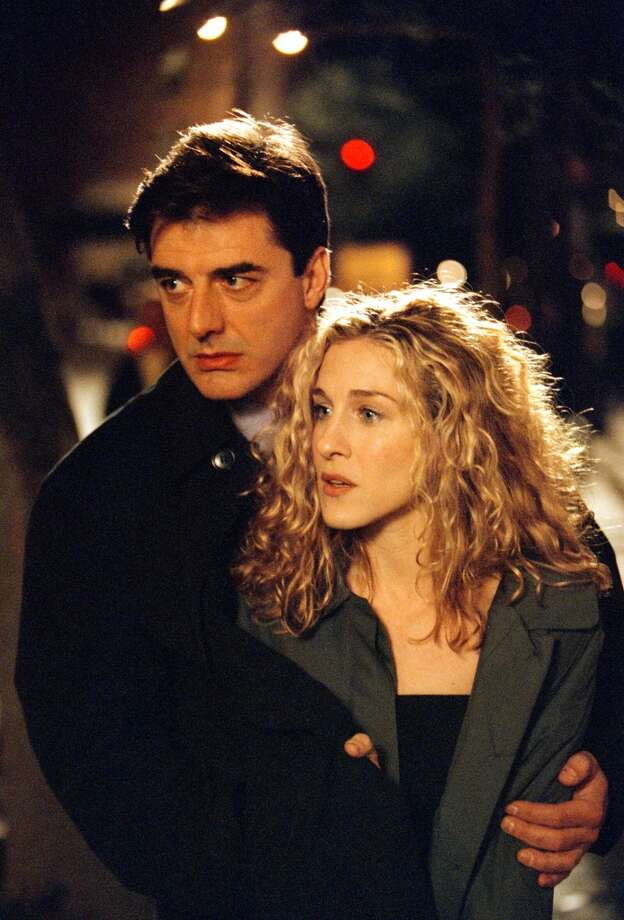 Carrie and Big (Sarah Jessica Parker and Chris Noth). Photo: HBO, Getty Images