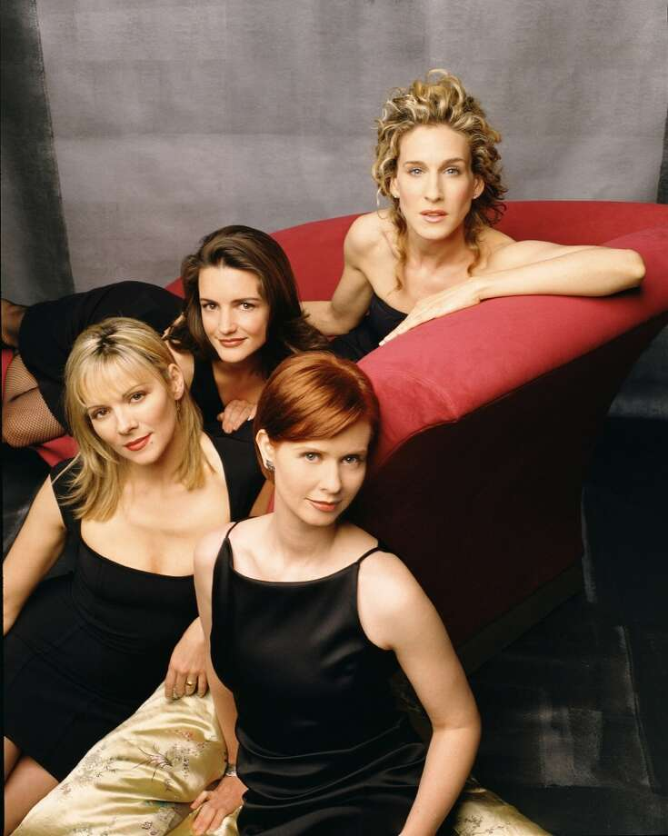 The ladies in 2002. Photo: Getty Images