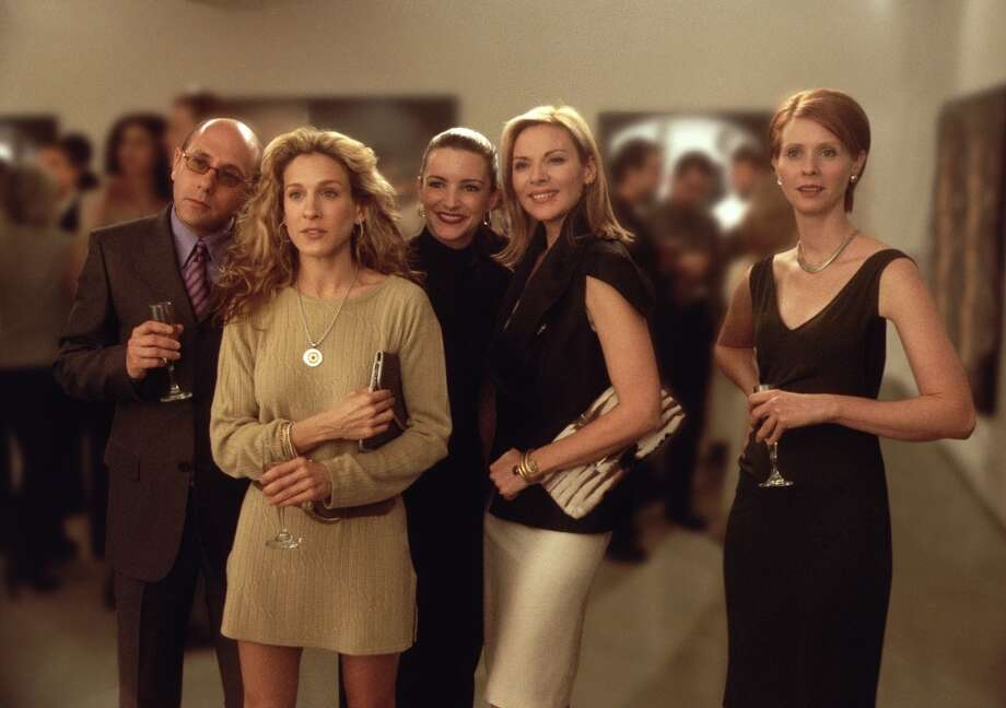 And there were the gay male friends, like Stanford Blatch, far left, played by Willie Garson. He was Carrie's best boy friend. Photo: Getty Images