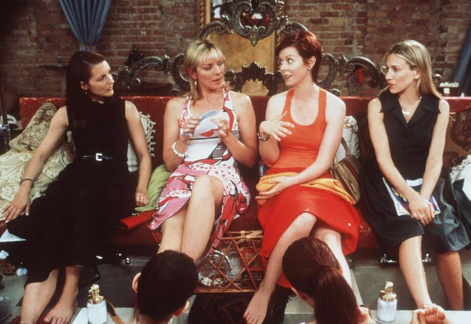 HBO's 'Sex and the City,' about four single women looking for love and sex in New York City, premiered on June 6, 1998 and introduced the masses to Manolo Blahniks, Magnolia Bakery and Cosmopolitans. We look back at the series — just the series, mind you, no movie nostalgia here — and its characters, then and now.  The ladies of 'Sex and the City' (from l-r: Kristin Davis, Kim Cattrall, Cynthia Nixon and Sarah Jessica Parker) in 1999. Photo: Paramount Pictures, Getty Images