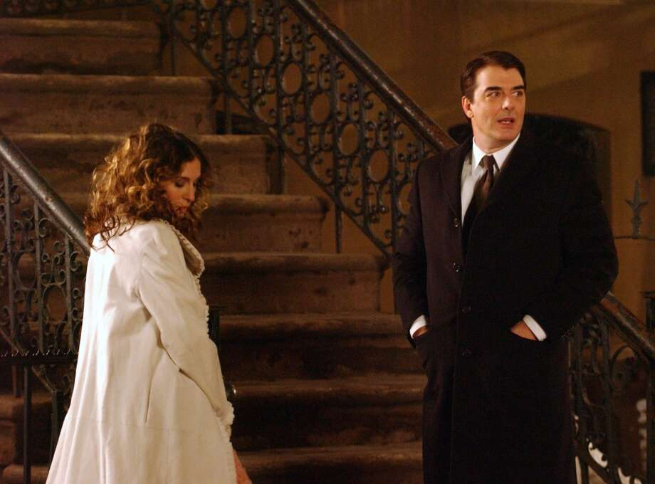 Sarah Jessica Parker and Chris Noth during the 'Sex and the City' finale. Photo: Debra L Rothenberg, FilmMagic