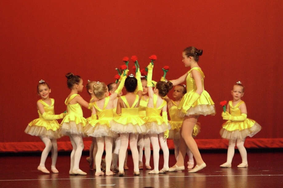 The members of the Darien School of Dance recently celebrated the beauty of the seasons at a recital at Darien High School. Photo: Contributed