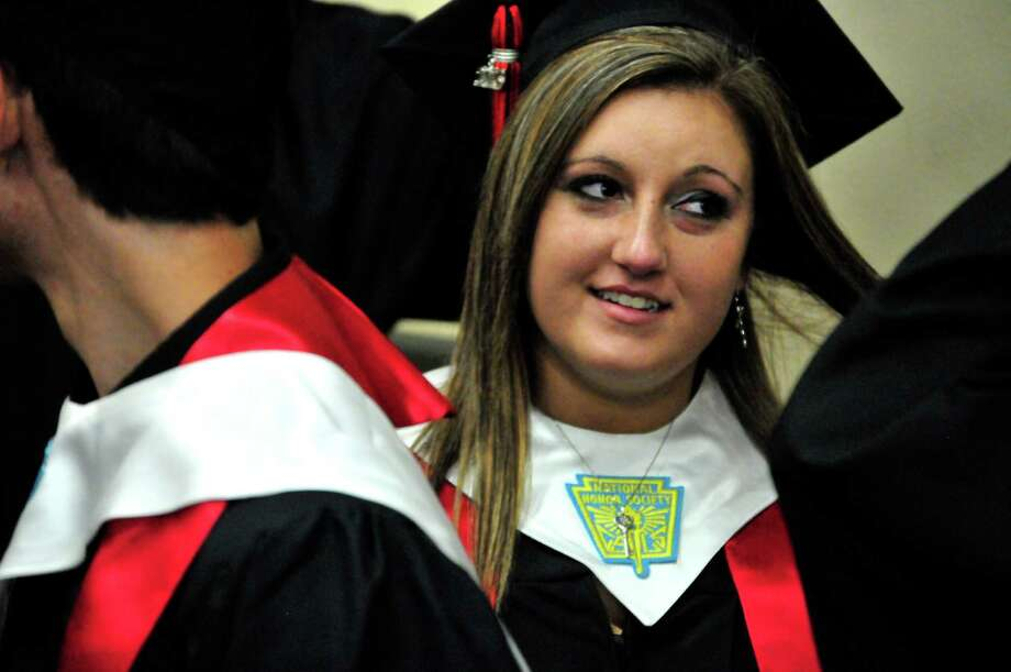 Kountze High School Class of 2013 graduation. Photo: Cassie Smith