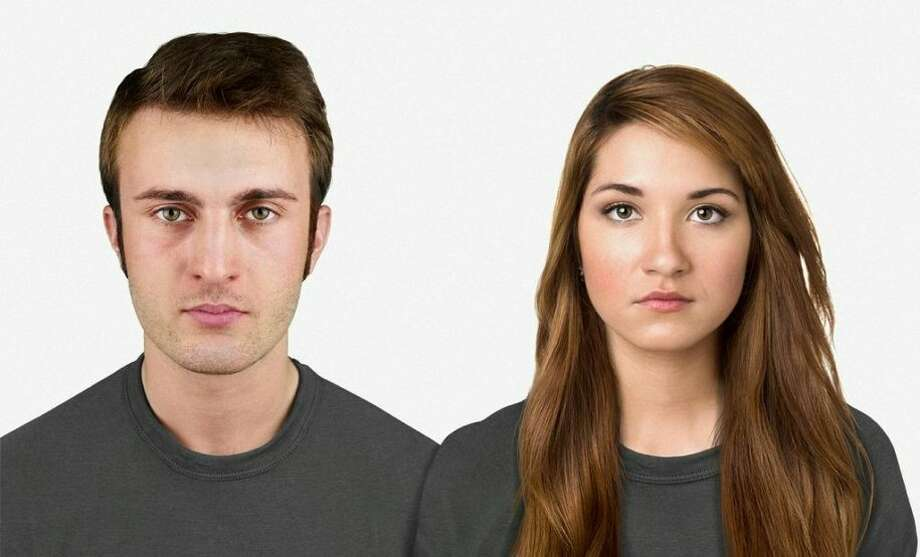 TODAY: Here is a photo of a normal-looking man and woman today.Source: Business InsiderPhoto: Nickolay Lamm/MyVoucherCodes.co.uk Photo: Nickolay Lamm/MyVoucherCodes.co.uk