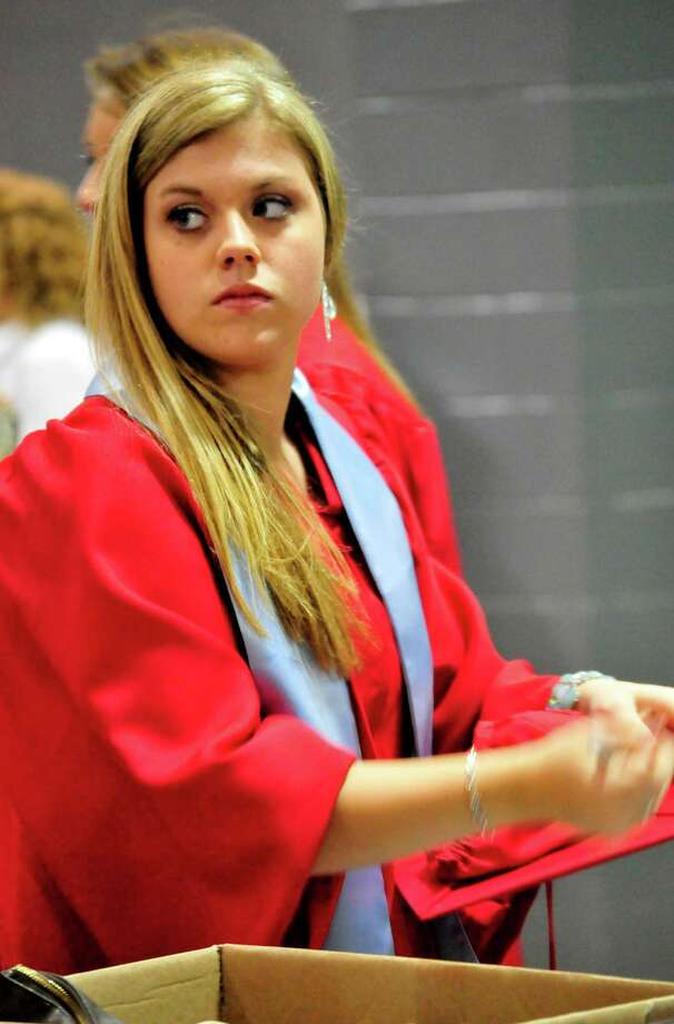 Lumberton High School Class of 2013 graduation. Photo: Cassie Smith