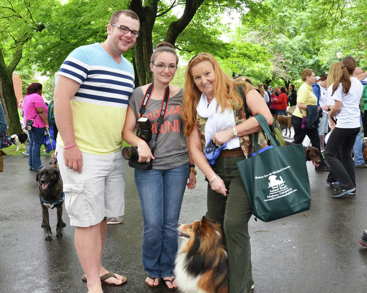 Were you Seen at the annual Paws in the Park fundraiser for the Mohawk Hudson Humane Society, held at Siena College in Loudonville on Saturday, June 8, 2013?