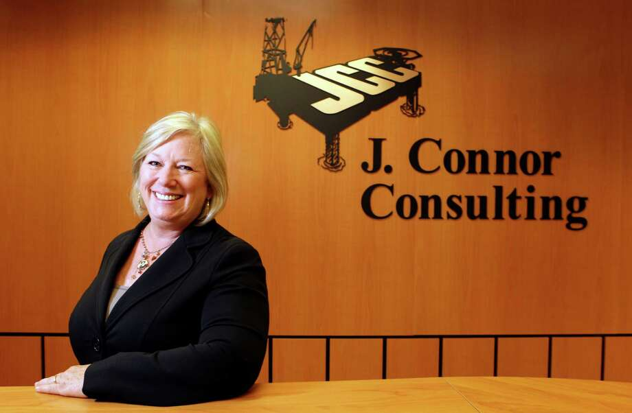 Jodie Connor of J. Connor Consultants, 16625 Park Ten Place Suite 700, poses in the office Thursday, May 30, 2013, in Houston.  The company specializes in helping energy firms navigate government regulations. ( Melissa Phillip / Houston Chronicle ) Photo: Melissa Phillip, Staff / © 2013  Houston Chronicle