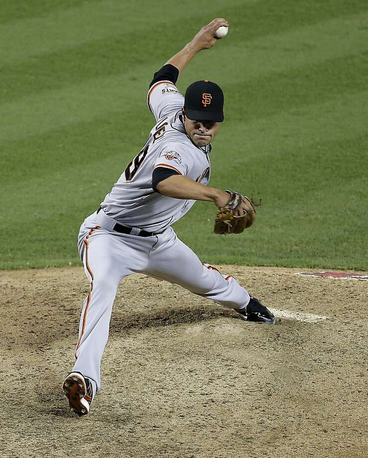 Javier Lopez has a 2.26 ERA in 1471/3 innings since the Giants acquired him from Pittsburgh for John Bowker and Joe Martinez. Photo: Matt York, Associated Press