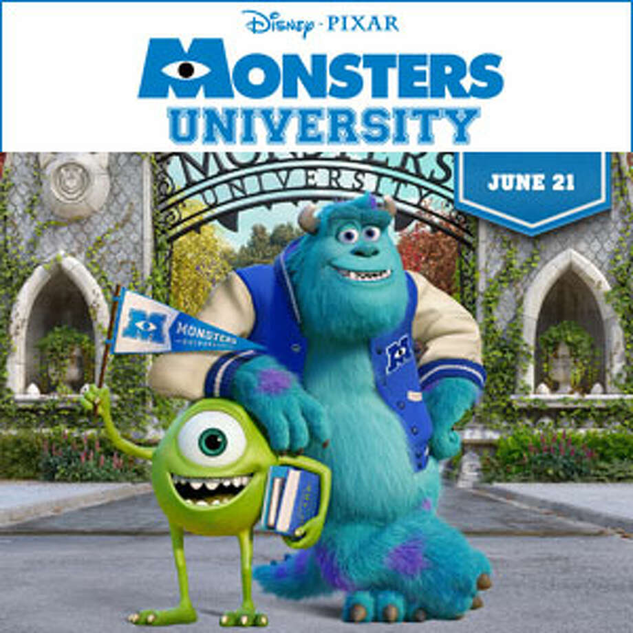 "Monsters University (2013)Squishy: ""Mom go.""Sherri: ""Seat belts""Squishy: ""Ok, go!""Sherri: ""Does anyone want gum?""Squishy: ""Just drive!"""
