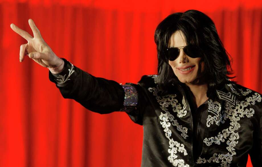 In this 2009 file photo, US singer Michael Jackson announces at a press conference that he is set to play ten live concerts at the London O2 Arena in July 2009.  Wade  Robson, who testified that Michael Jackson never abused him as a child, filed a claim against the singer's estate claiming years of abuse by the pop superstar. Robson claims he was abused by the pop superstar over a seven-year period. A Los Angeles judge said Thursday June 6, that he was inclined to unseal portions of Robson's court filings alleging molestation by Jackson, but that certain details wouldn't be made public to protect the choreographer's privacy. Photo: AP