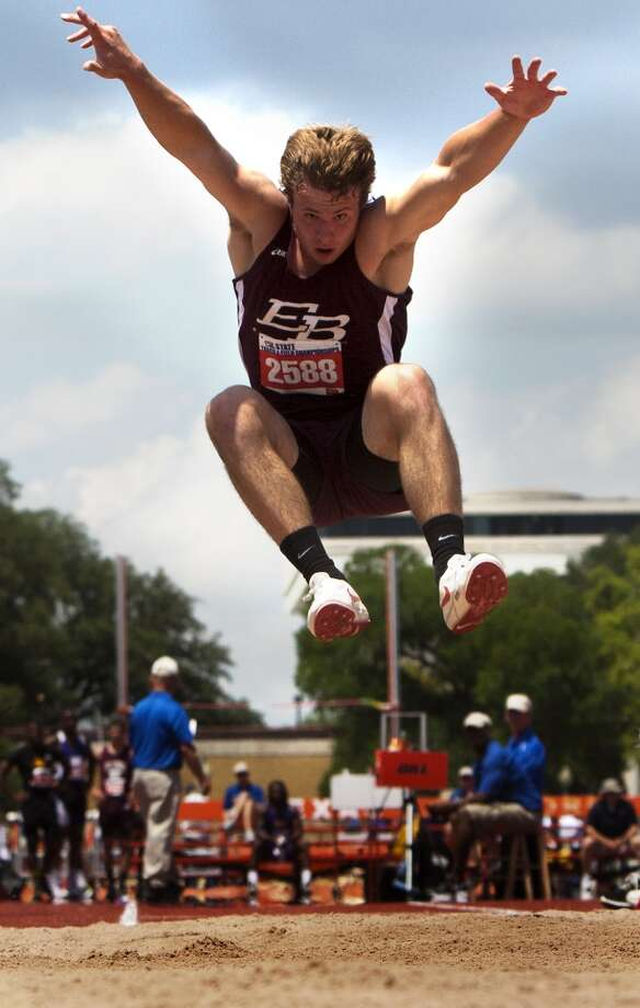 Boys jumpsTy Slanina, Sr., East BernardNot pictured: Garrett Larson, Sr., Brenham and Kerwin Roach, So., North Shore
