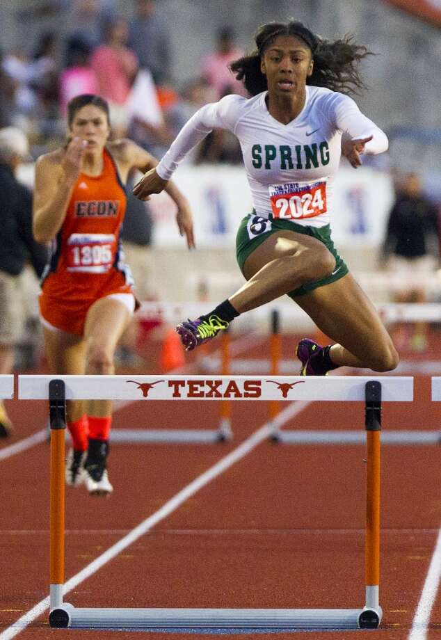 Girls hurdlesAlaysh'A Johnson, Jr., Spring