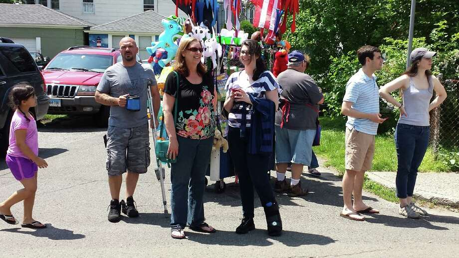 Were you SEEN at the Black Rock Day Bed Parade? 6/9/2013 Photo: Todd Tracy/ Hearst Connecticut Media Group