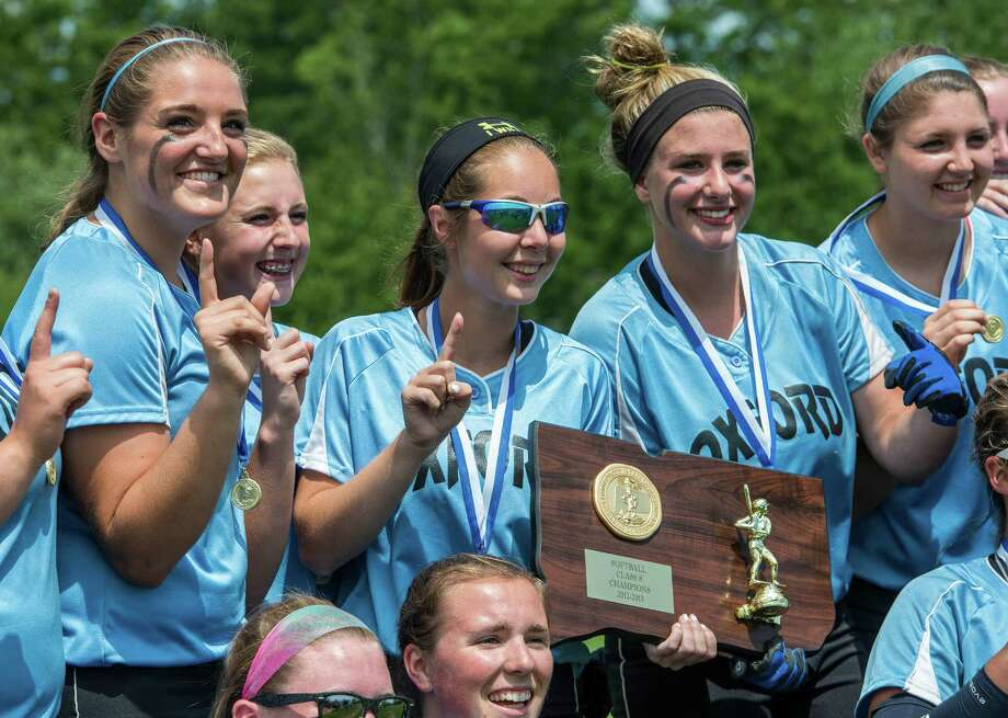 Oxford high school against Terryville high school in the CIAC class S softball championship game played at West Haven high school, West Haven, CT on Sunday June 9th, 2013. Photo: Mark Conrad / Connecticut Post Freelance