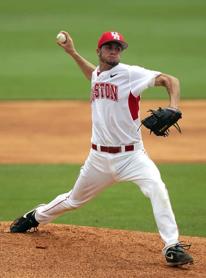 Chicago Cubs - 14th round, 408th overall Daniel Poncedeleon, RHP, UH