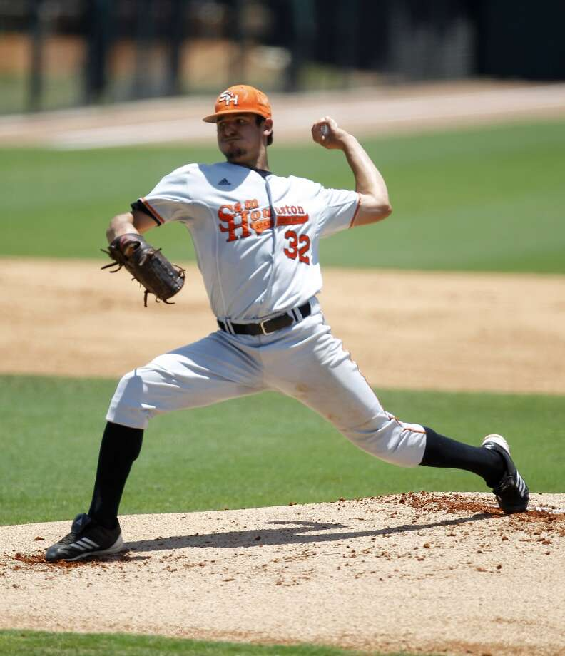 New York Yankees - 14th round, 434th overall Caleb Smith, LHP, Sam Houston State